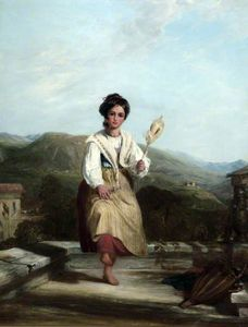 William Collins - Spinning Menina de Sorrento