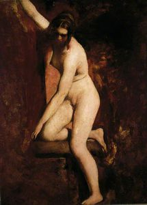 William Etty - nu feminino -