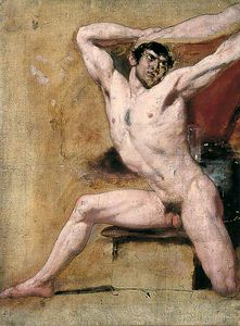 William Etty - macho nú -
