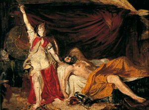 William Etty - Estudo para Judith