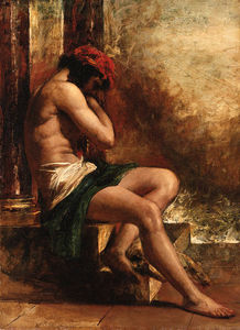 William Etty - O Escravo