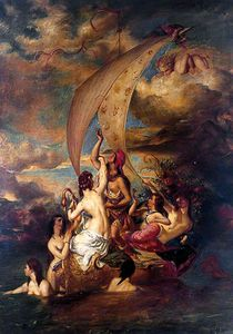 William Etty - Juventude na proa