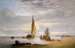 Alfred Stannard - Yarmouth Beach, Norfolk -