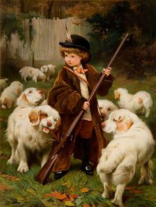 Charles Burton Barber - The New Keeper