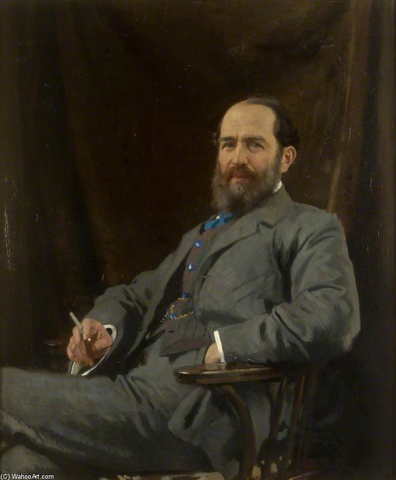 arthur schuster por William Newenham Montague Orpen (1878-1931, Ireland) | Copy Pintura | WahooArt.com