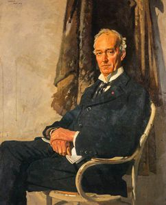 William Newenham Montague Orpen - George Allardice, 1º Barão de Riddell Of Walton Heath, proprietário de jornais E diarista