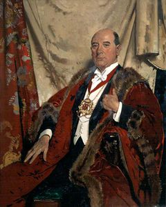 William Newenham Montague Orpen - sir andrew lewis , Lld , senhor reitor de aberdeen