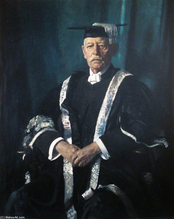 sir george Adão Ferreiro por William Newenham Montague Orpen (1878-1931, Ireland)