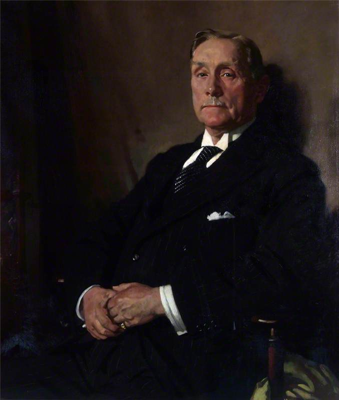 sir robert williams de parque por William Newenham Montague Orpen (1878-1931, Ireland) | Reprodução Da Arte | WahooArt.com