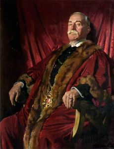 William Newenham Montague Orpen - sir william meff , senhor reitor de aberdeen