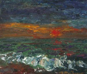 William Mactaggart - Gelado sol