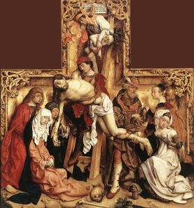 Master Of The St Bartholomew Altar - `descent` do cruz