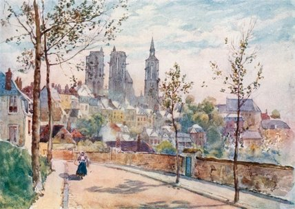 Laon do Boulevards por Herbert Menzies Marshall (1841-1913, United Kingdom)