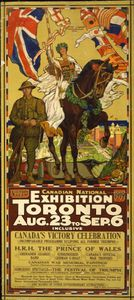 James Edward Hervey Macdonald - canadian national Exposição Cartaz , Toronto