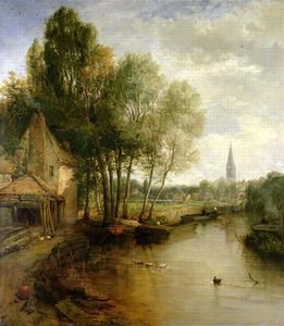 James Webb - uma vista de Stratford-upon-avon