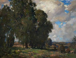 James Whitelaw Hamilton - Paisagem, Kirkcudbright