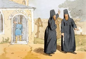 John Augustus Atkinson - Monks, c.1804