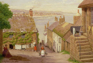 John Mulcaster Carrick - View Of Penzance De Newlyn