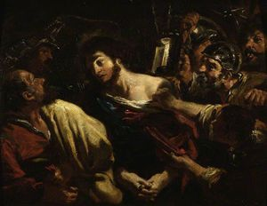 William Etty - Tomada de Cristo