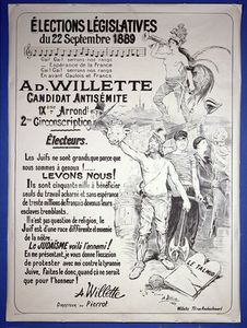 Adolphe Léon Willette - Cartaz Promover o Designação do Luscious no