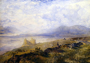Alfred William Hunt - Harlech Castelo -