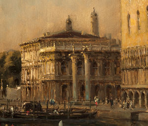 Antione Bouvard - Vista Of O Basin Of San Marco