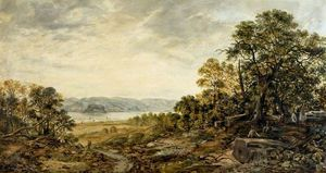 Arthur Perigal The Younger - On The Clyde, Dumbarton