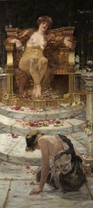 Edward Matthew Hale - Psique At The Throne Of Venus
