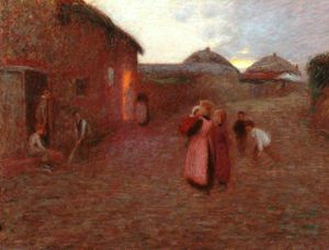 Edward William Stott - a aldeia rua