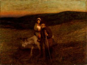 Edward William Stott - O voo