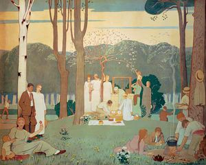 Frederick Cayley Robinson - o piquenique