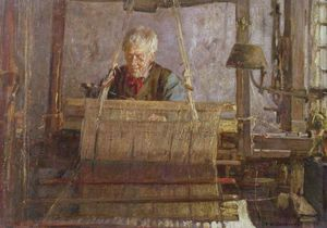 Frederick William Jackson - The Last Of The Hand Loom Weavers