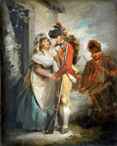 George Morland - o Soldier-s Partida