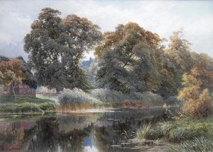 Harry Sutton Palmer - aquarela