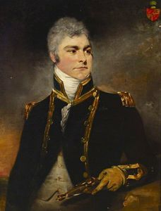 William Beechey - Almirante sir charles hamilton