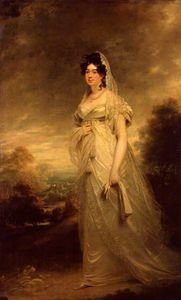 William Beechey - harriot beauclerk , Nascida Mellon , Duquesa de st Albans