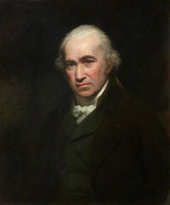 William Beechey - James Watt -