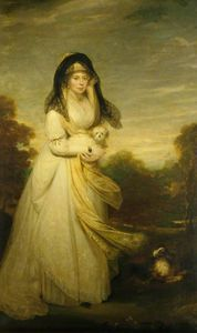 William Beechey - Queen Charlotte de Mecklenburg-Strelitz