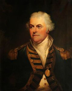 William Beechey - Vice-almirante Lord Alan Gardner