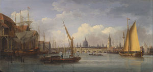 William Anderson - londres ponte , com st . Paul-s catedral em a distância