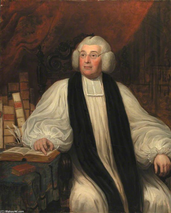 Bishop Burgess por William Owen (1769-1825, United Kingdom) | WahooArt.com