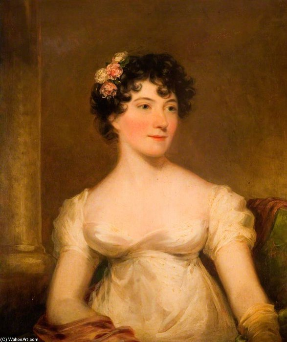 Charlotte Pardal por William Owen (1769-1825, United Kingdom) | WahooArt.com