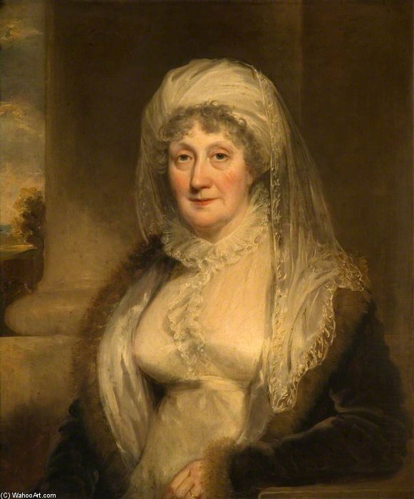 Isabel Pardal de bishton Corredor por William Owen (1769-1825, United Kingdom) | WahooArt.com