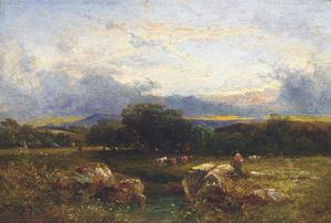 Anthony Vandyke Copley Fielding - Sol , Sussex