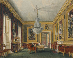 Charles Wild - Carlton House, West Ante-sala