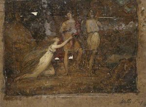 Frederick Waters (William) Watts - cena clássica A partir de 'tasso'