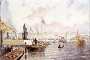 Frederick Waters (William) Watts - londres ponte