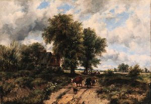 Frederick Waters (William) Watts - perto dorking , Surrey