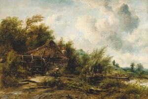 Frederick Waters (William) Watts - O Watermill