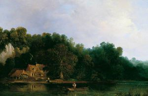 Frederick Waters (William) Watts - Vista para o Tâmisa De Tilehurst